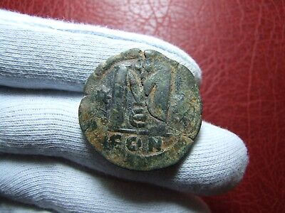 Byzantine follis with large M coin to identify