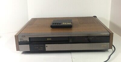 VINTAGE JVC HR-S8000U Super 4-Head Digital Hi-Fi VCR SVHS Player W/ Remote