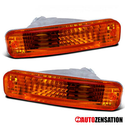 90-91 Acura Integra JDM Amber Bumper Lights Park Turn Signal Lamp