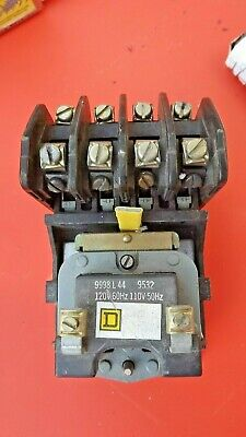 8903LO40V02-Square D Lighting Contactor 4POLE 30AMP 120VOLT Surface 8903