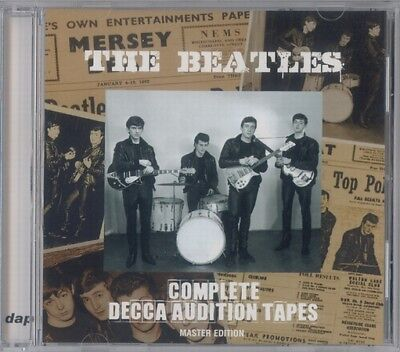 The Beatles  Complete Decca Audition Tapes   Dap  (Press ) *f/s