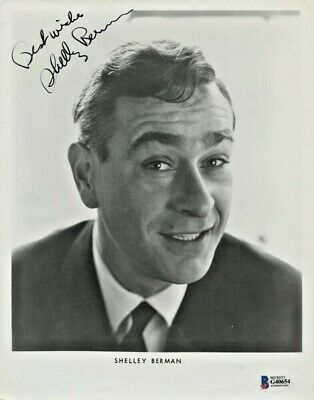 Shelley Berman Signed 8x10 Photo Curb Your Fockers Zohan CSI Friends Get Smart