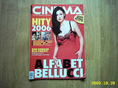MONICA BELLUCCI on front cover Cinema 06/06 Polish mag.
