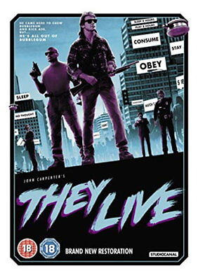 They Live [DVD] [2018] [New DVD]