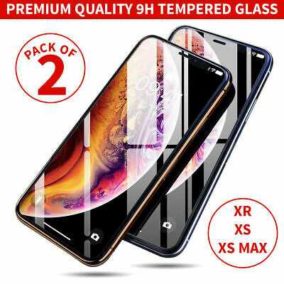 Gorilla Tempered Glass Screen Film Protector for New iPhone XS Max XR X 6 7 8