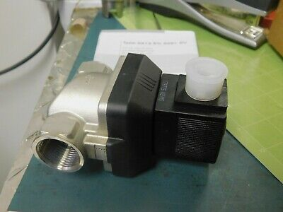 Burkert 00222168 Type 6213 2/2-Way Solenoid Valve, New