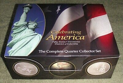 Celebrating America Complete Set of United States 1999 to 2009 State Quarters US