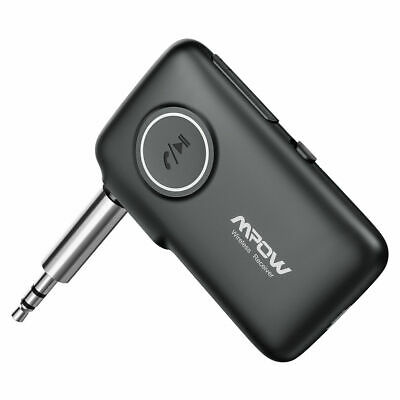 Mpow Wireless Bluetooth 5.0 Audio Stereo Music Receiver Car kits AUX Adapter MIC