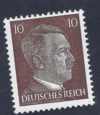 Nazi Germany Third Reich Nazi 1941 Adolf Hitler 10 stamp MNH WW2 ERA