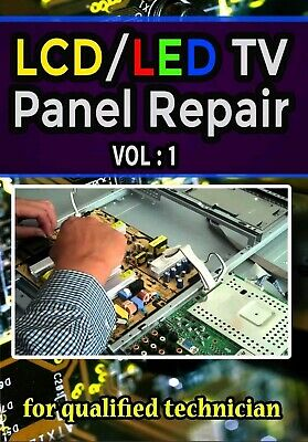 LCD/LED TV Panel Repair Book pdf Part 1 [PDF][Fast delivery]