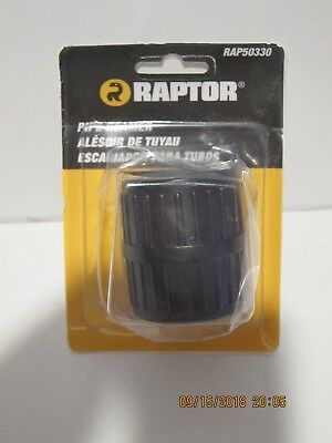 RAPTOR RAP50330 PIPE REAMER Deburring / Flaring HAND TOOL F/SHIP NEW SEALED PACK