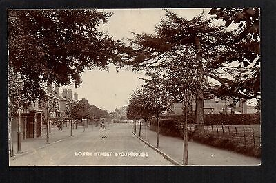 Stourbridge - South Street - real photographic postcard
