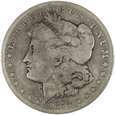 1878-CC $1 Morgan Silver Dollar .7734 ozt