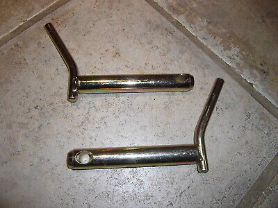 PAIR OF CAT 1 LOWER LINK PINS WITH HANDLES (22mm DIAMETER) Tractor Linkage
