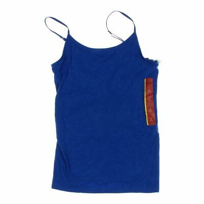 63d258592f5cd MOSSIMO SUPPLY CO Womens blue cotton tank top shirt racerback size ...