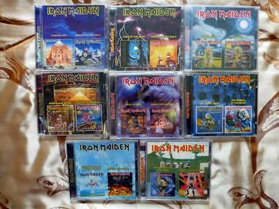 Iron Maiden Very Rare Complete Set 9 CDs Albums + Single Collection