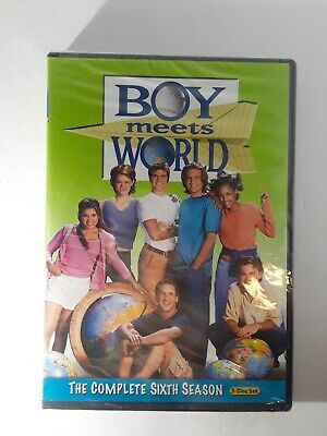 Boy Meets World: The Complete Sixth Season (DVD, 2011, 3-Disc Set)