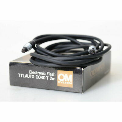 Olympus Ttl-Verbindungskabel T 2m - Cable para Flash 2 Longitud M - Flash Cord