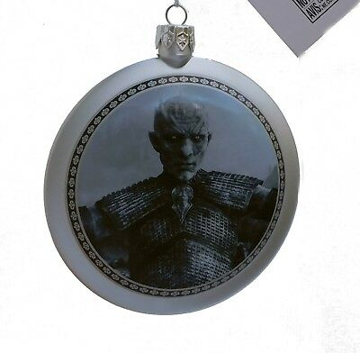 50% SALE~Kurt Adler Game of Thrones Ornament~Lannister House & White Walker~TAG