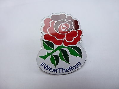 England Rugby World Cup 2015 Lapel Pin Badge - Issued By 02 #wear The Rose