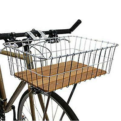 Silver Wald 137 Front Bicycle Basket 15 x 10 x 4.75