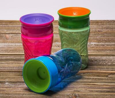 Wow 360 Kids Cup No More Spills Sippy Cup 3 Colours