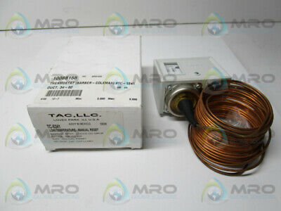 Barber Coleman Tc-5241 Thermostat * New In Box *
