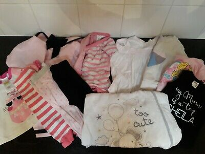 Baby girl clothes size 0 dress outfit jumper pants sleeping bag