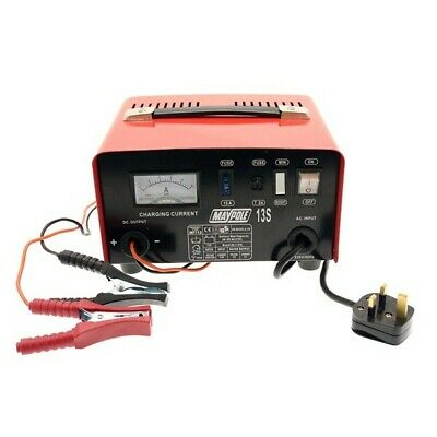Metal Battery Charger 8A 12V Maypole 713A