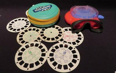 View-master 2002 Fisher Price/Mattel Red Version with 6 Reels & Case