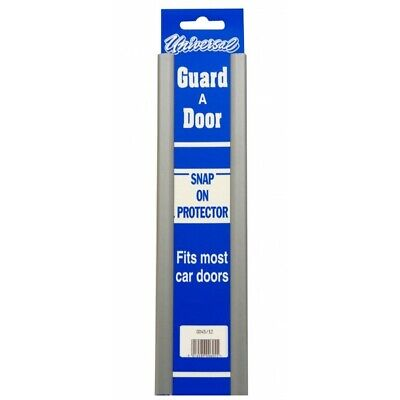 Van Door Boot Edge Guard Protector Universal Pair Snap On Black Doorguard Covers