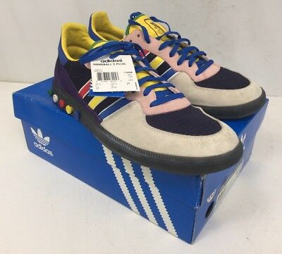 9f2208d55c21e VTG RARE ADIDAS Handball 5 Plug 116996 AllOdd Mens 13 Mint In Box Original  Shoes