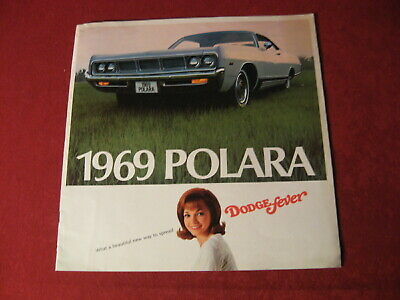 1969 Dodge Polara Big Dealership Sales Brochure Booklet Catalog Old Book