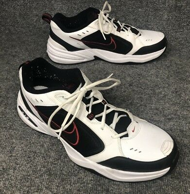pretty nice 01298 32fa9 NIKE Air Monarch IV Men's Size 15 Training Shoes White/Black/Red 415445-