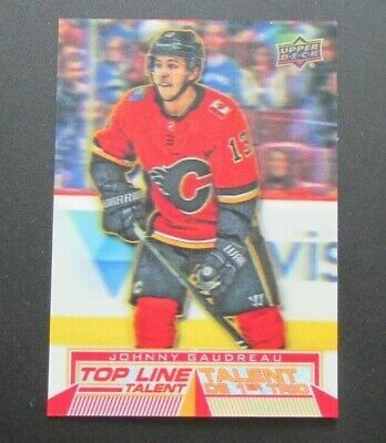 2018-19 Upper Deck Tim Hortons Top Line Talents #TLT6 Johnny Gaudreau