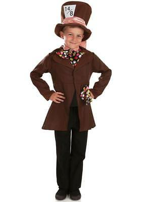 Boys Little Mad Hatter Fancy Dress Costume World Book Day outfit