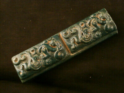CHINA/'S TIBET SILVER HAND CARVED DRAGON /& PHOENIX PAPER WEIGHT
