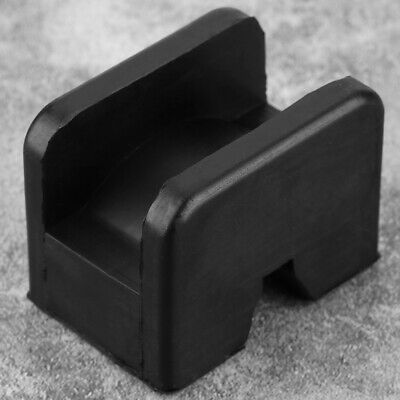 Rubber Jack Pad Car Frame Rail Protector Jack Support Pad Adapter Black