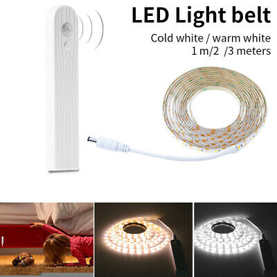 1/2/3m LED Motion Sensor Activated LED Light Strip Waterproof Battery Operated W