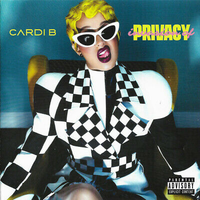 Cardi B - Invasion Of Privacy [CD] Explicit New & Sealed