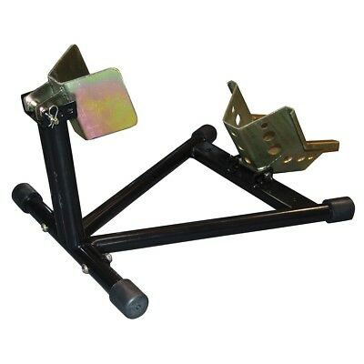 Bike-It Self-Assembly Adjustable Roll On Motorcycle / Bike Front Wheel Chock