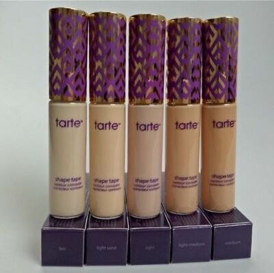 Tarte Shape Tape Contour High Cover Concealer Shade Light Medium Fair Light Sand