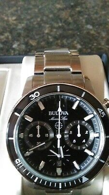 Bulova Marine Star Mens Watch 96b272