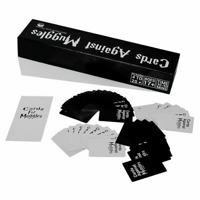 Huge Sealed Cards Against Muggles Mystic Cards Harry Potter Limited Edition Game