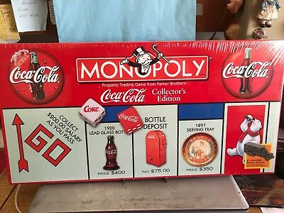 COCA COLA  MONOPOLY GAME----NEVER OPENED----------------------rp