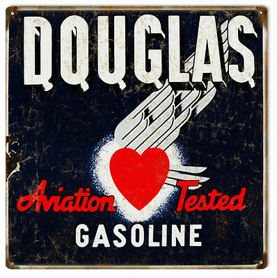 Quincy Gasoline Laser Cut Out Sign 17.5x33