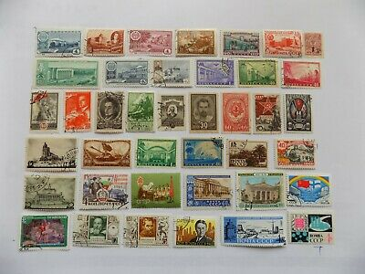 Russian  Coll'n of stamps off paper -3-22-some older