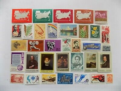 aLL mnh  Russian  Coll'n of stamps off paper -3-24-SOME LARGE PICTORIALS