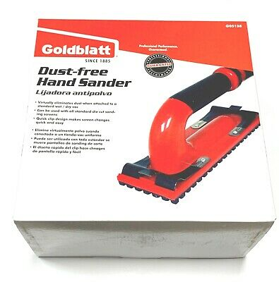 Goldblatt Dust Free Hand Sander Kit With 6ft Hose G05138