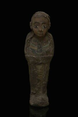 Ancient EGYPT EGYPTIAN STATUE ANTIQUE Shabti Ushabti Mummy Carved STONE, BCE